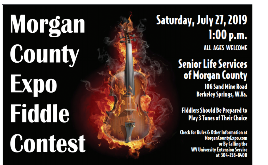 Fiddle Contest Open To All Ages